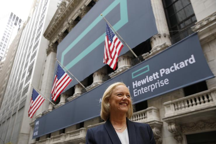 Meg Whitman - HPE president and CEO