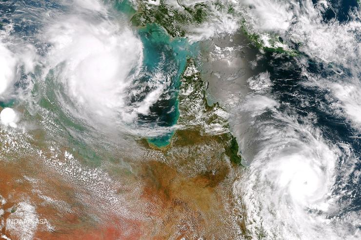 Queensland (Credit: NOAA Satellites)