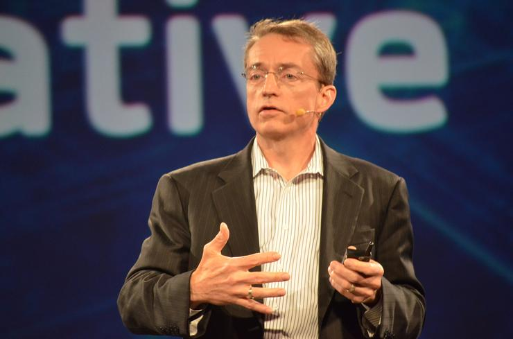 Pat Gelsinger - CEO, VMware, during his EMC World 2015 keynote address