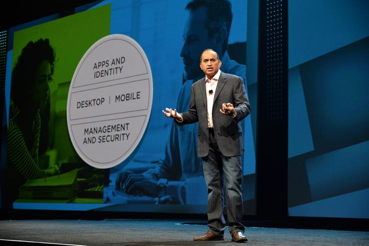 VMware end user computing general manager and head of global marketing, Sanjay Poonen