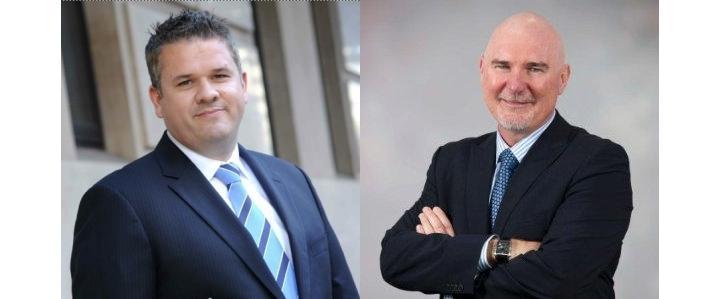 Todd Parsons (left) and Tony Simonsen (right).