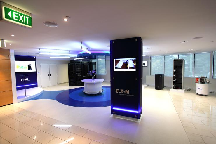 Eaton's new Customer Experience Centre located in Mascot, Sydney.