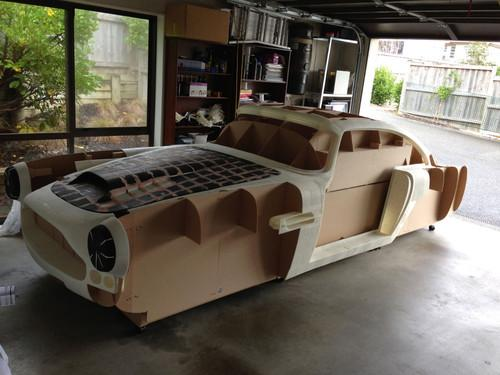 "Since last December, Ivan has been hard at work, putting together a plastic replica of an Aston Martin DB4—the precursor model to James Bond's famous DB5—made of enough 3D-printed parts that Ivan calls it a ""2500-bit jigsaw puzzle."""