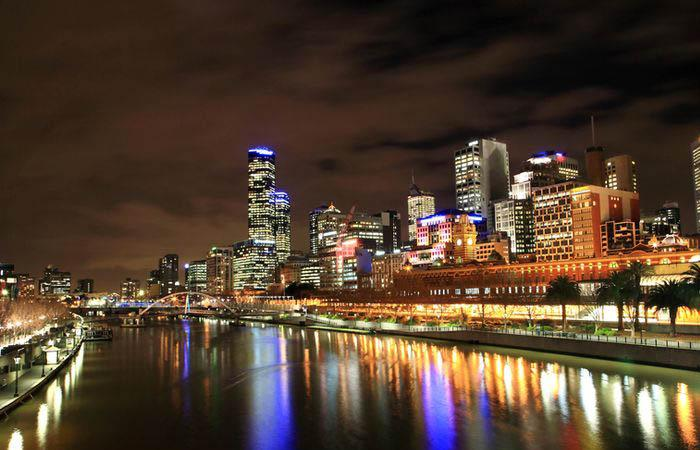 The Victorian capital, Melbourne