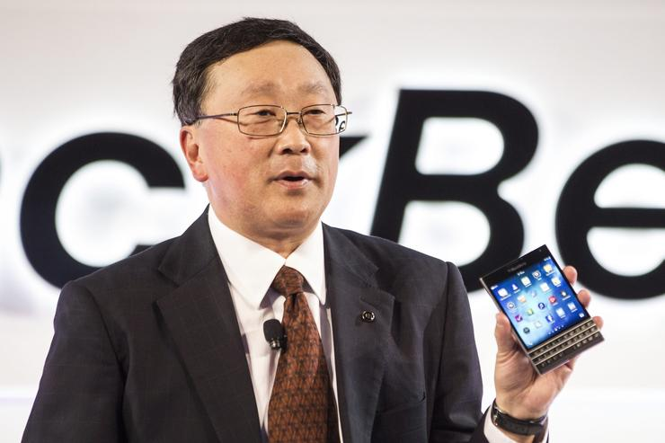 John Chen - Chairman and CEO, BlackBerry