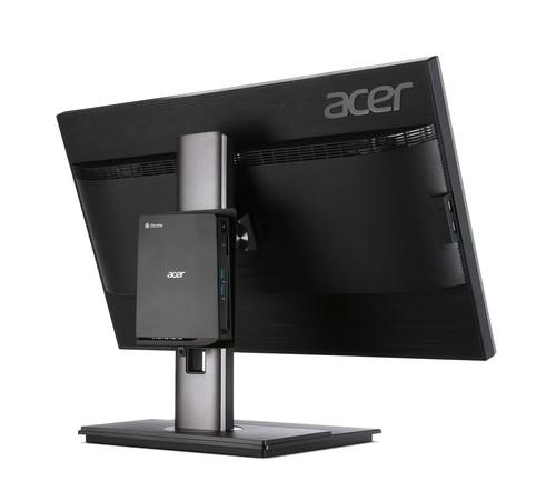 Acer's Chromebox CXI attached to display.