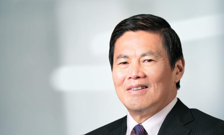 Optus chief executive, Allen Lew.