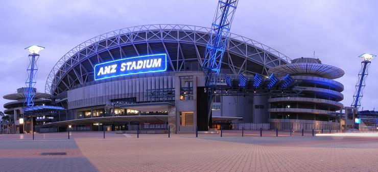 ANZ Stadium, Sydney.
