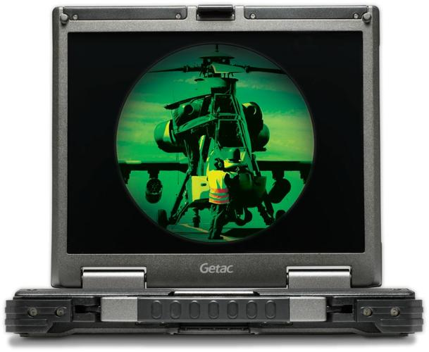 Getac B300 - night vision
