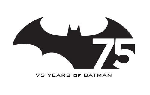 To celebrate the 75th anniversary of DC's Batman comics, DC Entertainment and Warner Bros. Entertainment have taken the wraps off a special new Batman logo for the occasion.