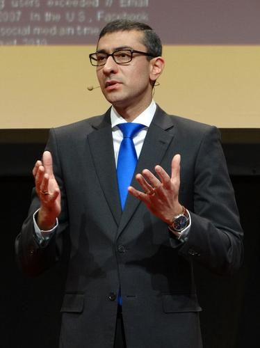 Nokia Siemens Networks CEO Rajeev Suri spoke on Sunday in Barcelona on the eve of Mobile World Congress.