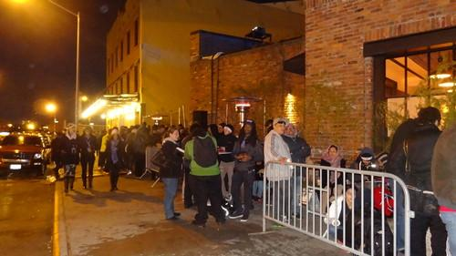 PlayStation 4 line outside Standard High Line hotel (2)