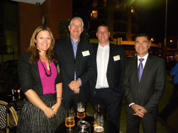 (From Left) Chris Denis - Rittal Channel Account Manager, Peter Mellino - Rittal Managing Director A/NZ, Leigh Howard – WhiteGold Strategic Advisor, Mark Roberts – Rittal Business Development Manager