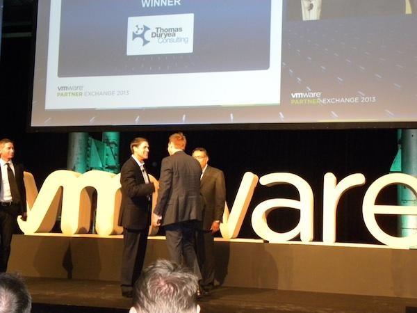 Thomas Duryea Consulting nabbed the VMware A/NZ Cloud infrastructure partner of the year award