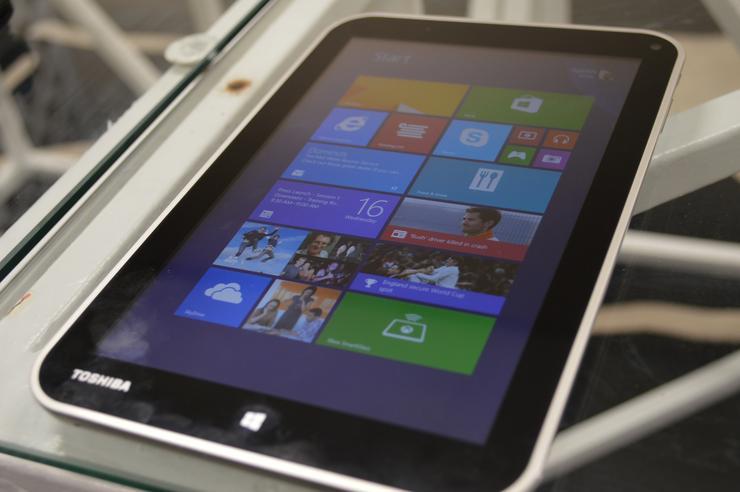 "Toshiba's 8"" tablet, Encore"
