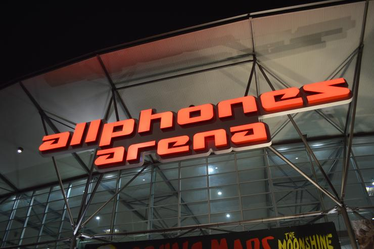 Allphones Arena in Sydney's Olympic Park hosted The Mrs. Carter Show