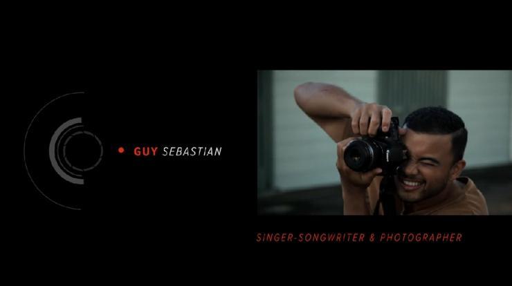 Guy Sebastian named Canon Australia brand ambassador.