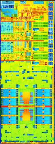 Intel's fourth-generation Core dual-core code-named Haswell, silicon image