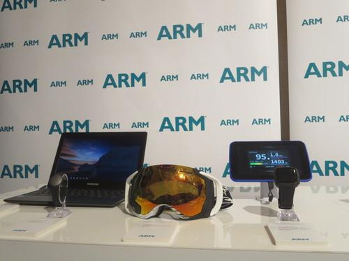 ARM-based PCs, wearable devices and mobile devices