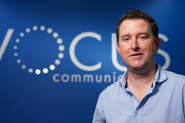 Vocus Communications CEO James Spenceley.