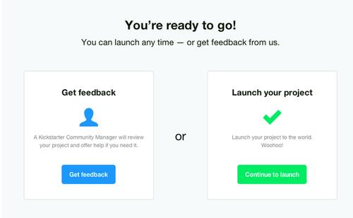 Kickstarter's new 'Launch Now' feature lets creators skip the manual approval process, if they want.