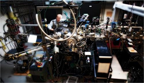 The magnetite experiment was conducted at the Soft X-ray Materials Science (SXR) experimental station at SLAC National Accelerator Laboratory's Linac Coherent Light Source X-ray laser.