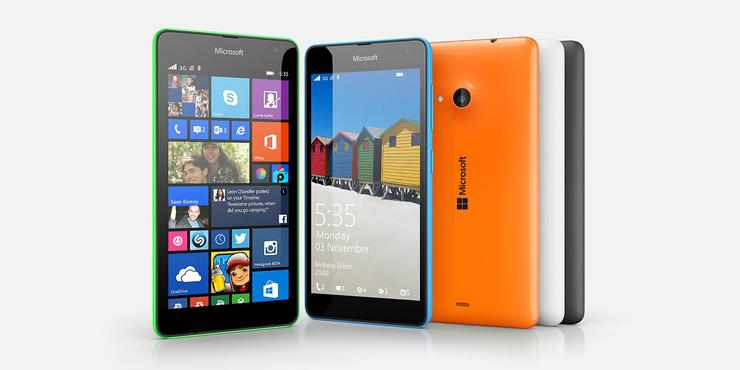 The Microsoft Lumia 535