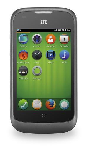 The ZTE Open will be the first Firefox OS phone for consumers as it goes on sale in Spain on Tuesday.