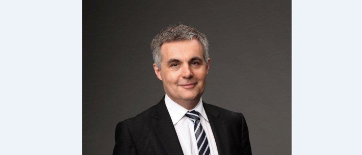 NBN Co's new chief financial officer, former News Corp CFO, Stephen Rue.