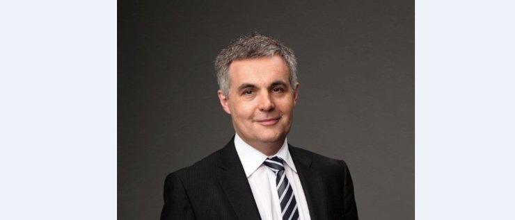 NBN Co's new chief financial officer, former News Corp CFO, Stephen Rue.
