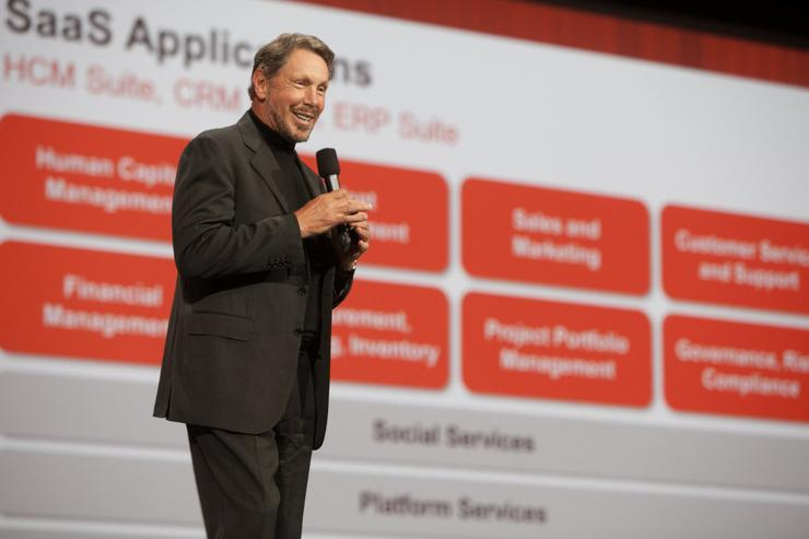 Oracle CEO Larry Ellison. Credit: Oracle.