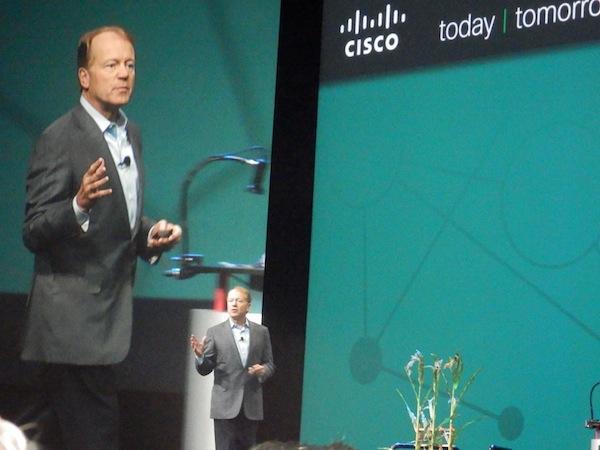 Cisco chairman and CEO, John Chambers