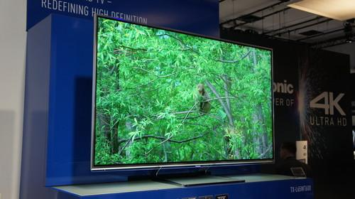 Panasonic's first 4K TV, the TX-L65WT600, is compatible with the new HDMI 2.0 standard