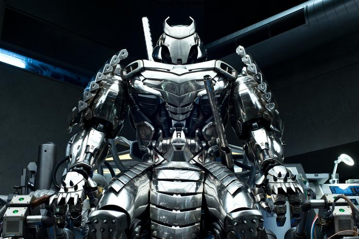 3D printing was used to create the armor for the Silver Samurai in The Wolverine