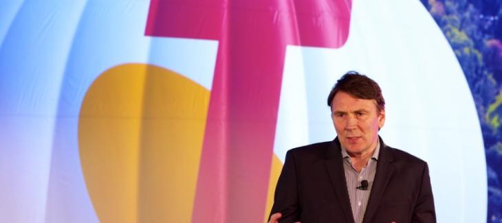 Telstra CEO, David Thodey.