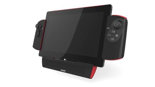 AMD's prototype gaming tablet with Mullins processor