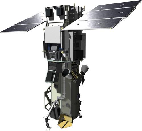 DigitalGlobe's WorldView 3 satellite