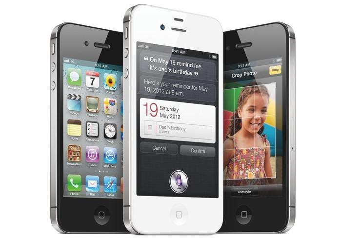The Apple iPhone 4S.