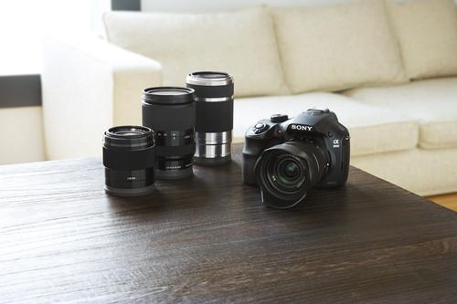 Sony Alpha 3000 and lenses