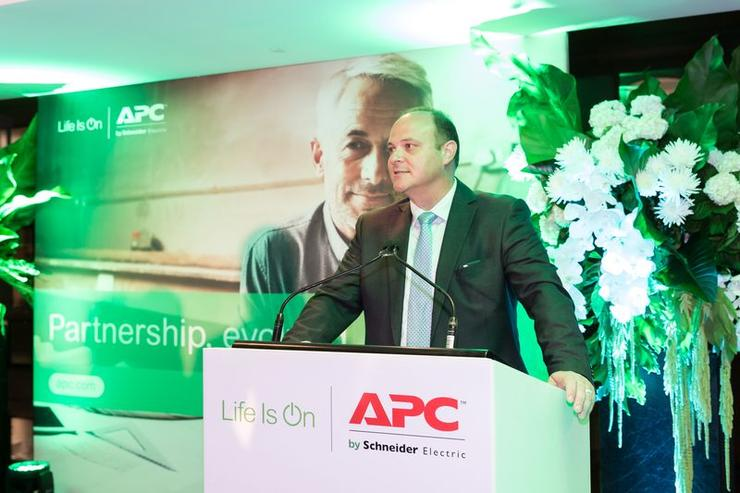 APC by Schneider Electric Pacific IT business and strategic customers and segments vice-president, Joe Craparotta