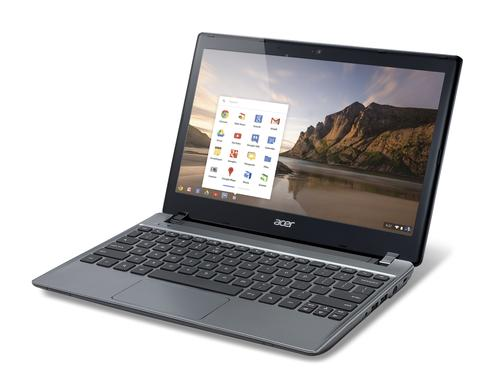 Acer's new C7 Chromebook comes with a 16GB SSD.