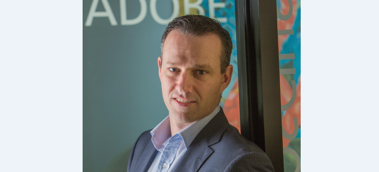 Adobe's new APAC president, Paul Robson.