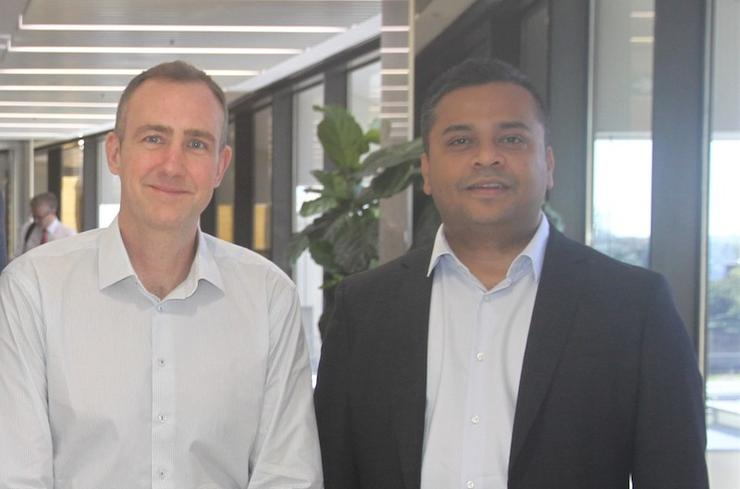 The Eclair Group's Alex Moynihan and Deloitte's Amberjit Endow