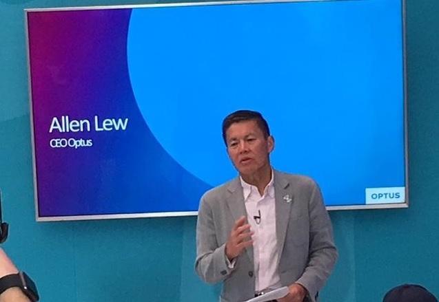 Optus CEO, Allen Lew