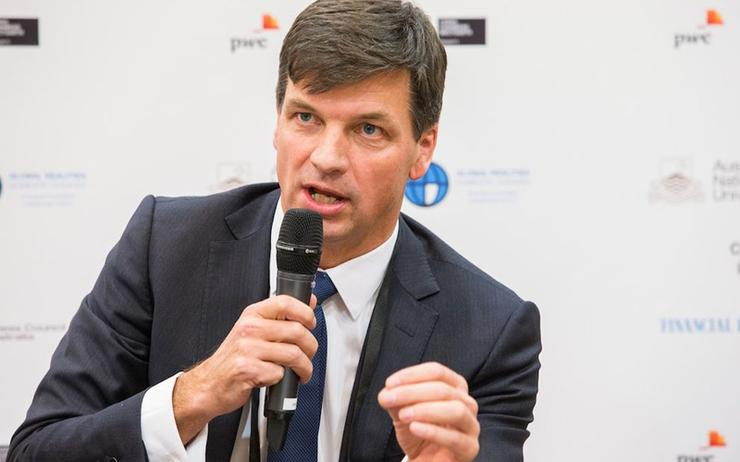 Minister Angus Taylor