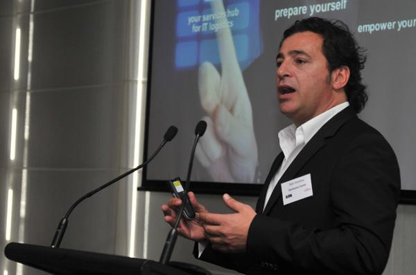 Distribution Central managing director, Nick Verykios.