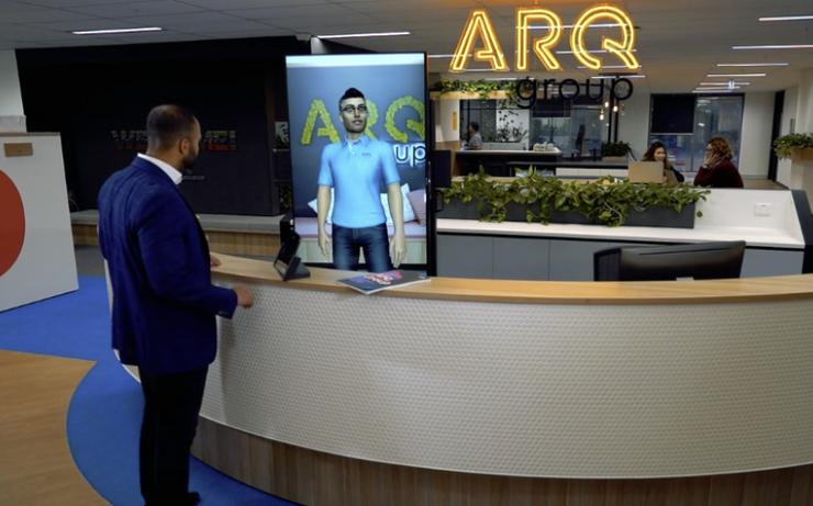Arq Group's virtual concierge
