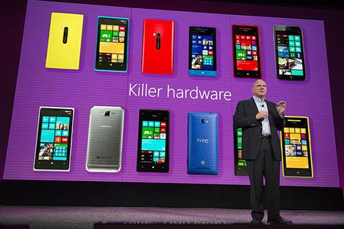 Ballmer talks up Windows Phone