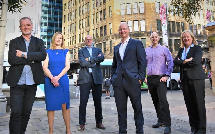 L-R: Doug Maloney (Barhead Solutions), Amanda Stenson (Barhead Solutions), David Hodgson (Barhead Solutions), Ken Struthers (Barhead Solutions), Mike Medves (Barhead Solutions), Jennifer Maritz (Barhead Solutions)
