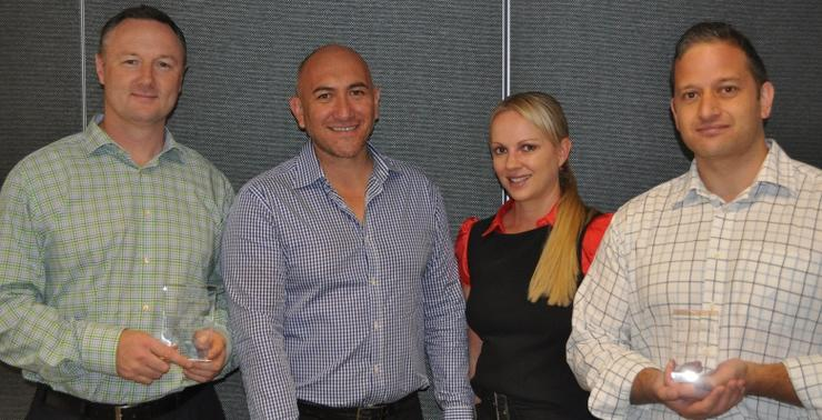 Ingram Micro Australia VP and managing director, Matthew Sanderson. Belkin national sales manager, Damian Commane. Belkin distribution channel manager, Shannon Dowden.Ingram Micro Australia Belkin product manager, Juane Sgroi.
